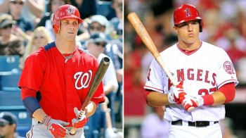 bryce harper or mike trout