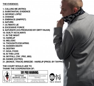 Subatantial Evidence Vol 1 CD art