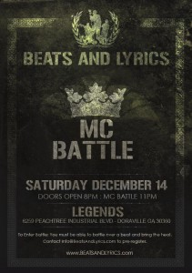 Beats & Lyrics MC Battle Brainofbmw Event
