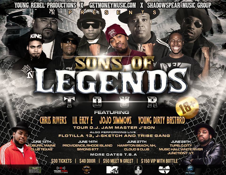 Sons Of Legends Tour