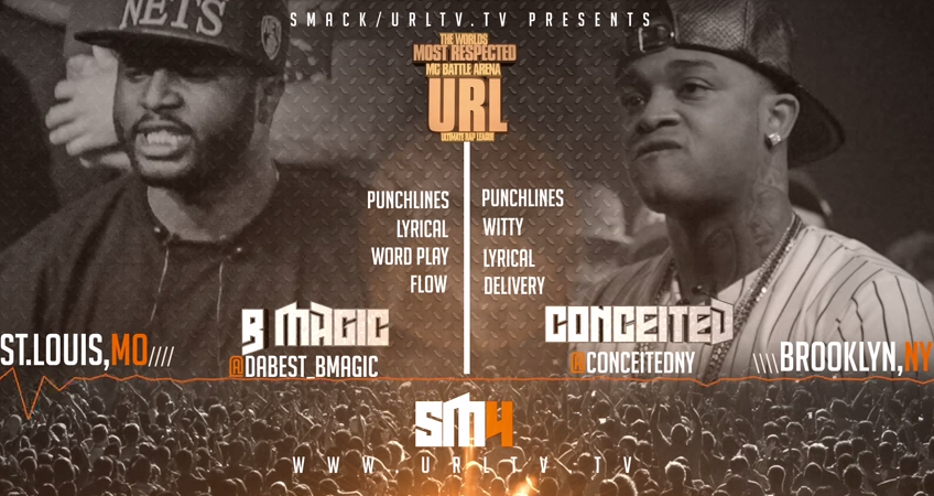 BMagic vs Conceited Battle Rap Brainofbmw Video