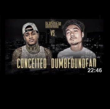 Conceited vs Dumbfoundead KOTD Battle Brainofbmw Video