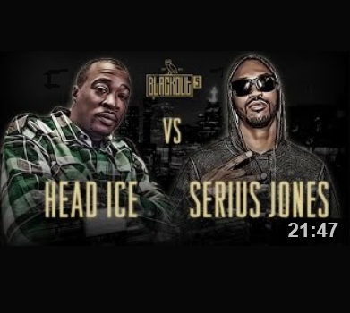 Head I.C.E. vs Serius Jones Brainofbmw Poll King of the Dot Battle rap