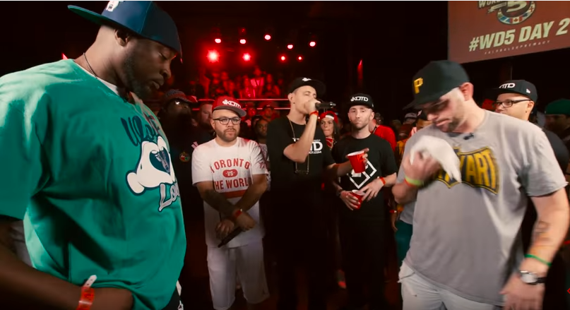 Real Deal vs Head Ice Battle Rap