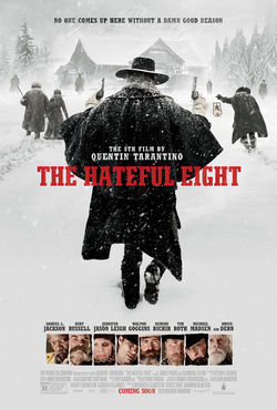 THE HATEFUL EIGHT movie review by blade brown