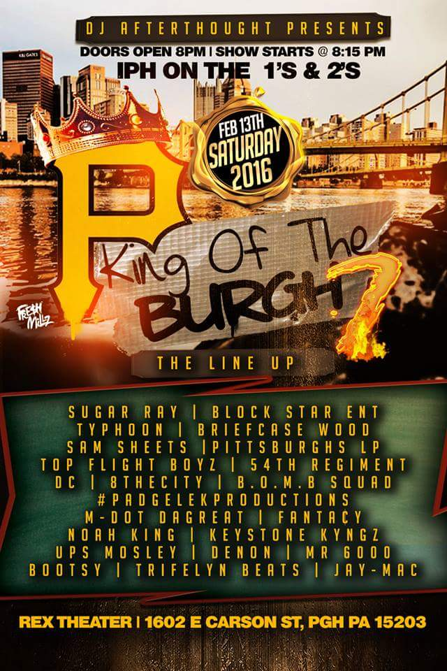 DJ Afterthought Presents: King of the Burgh 7 brainofbmw