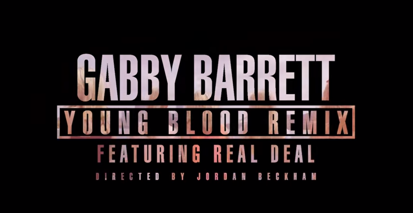 Gabby Barrett Young Blood Remix Feat Real Deal. Official Video