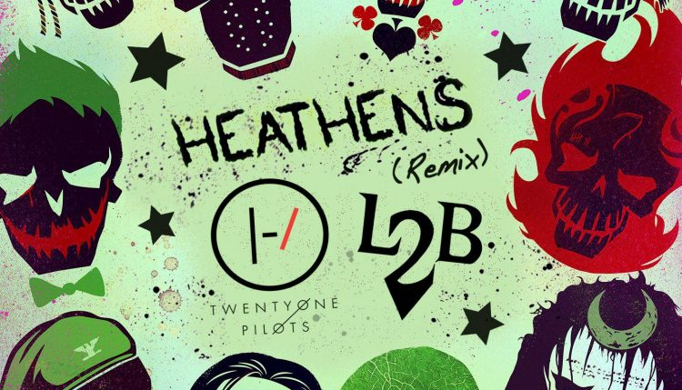 "Twenty One Pilots ft. L2B - ""Heathens (Remix) """