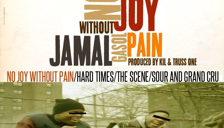 "Jamal Gasol - ""No Joy Without Pain"" (EP)"