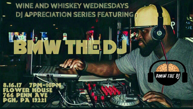 BMW THE DJ Wine N Whiskey Wednesday